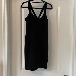 Express women's black dress